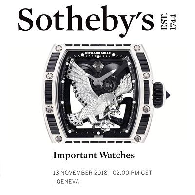 Important Watches 13 November 2018   2:00 PM CET   Geneva  Register to Bid - OldChrono24.com
