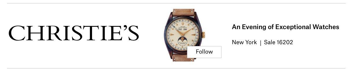 Christie's New York - OldTime24 - 1220x250